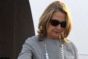 Hillary Clinton reaches Bangladesh to press stability