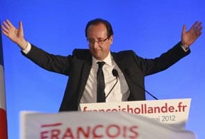Francois Hollande beats Nicolas Sarkozy to become France's first Socialist President in 17 years