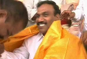 After jail stint, A Raja visits his constituency