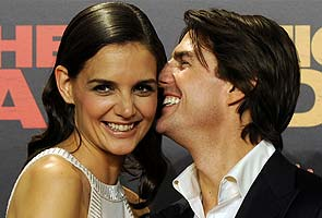 Katie Holmes files for divorce from Tom Cruise citing 'irreconcilable differences'