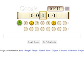 Google doodles a Turing Machine