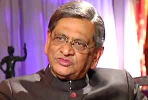 SM Krishna arrives in Washington for India-US Strategic Dialogue