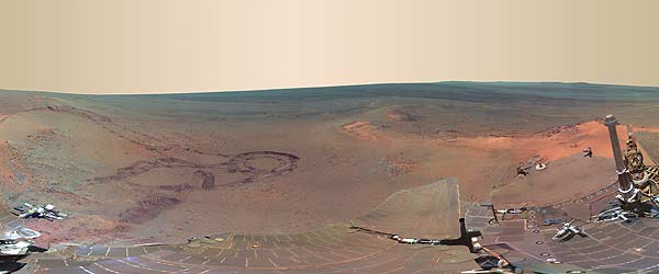 What does Mars look like? New NASA photos