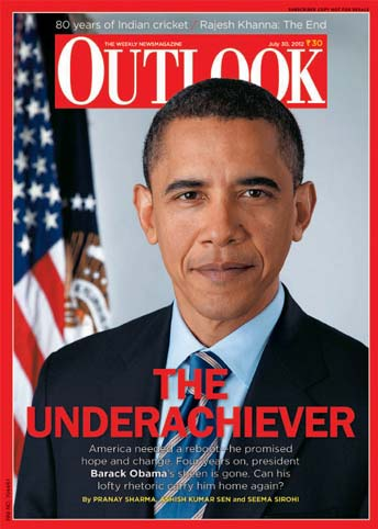 Who's the under-achiever now? Outlook gives Obama the title