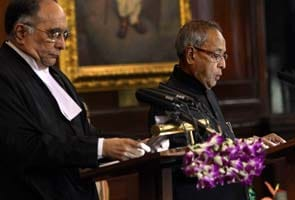 Pranab Mukherjee sworn-in as 13th President of India