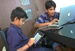 Meet the country's youngest apps programmers