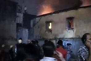 Fire at Kolkata's Barabazar cloth market
