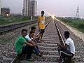 Stunt on railway track goes wrong, 15-year-old run over by train