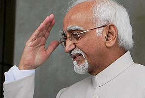 Hamid Ansari is elected Vice President again