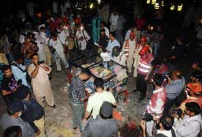 Explosions rock Lahore market, over 20 injured
