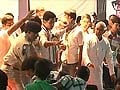 Chaos at Nitish Kumar function, students rush the stage