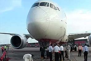 Air India's first Boeing 787 Dreamliner touches down in Delhi