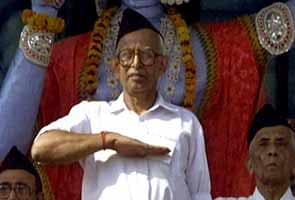 Former RSS chief KS Sudarshan dies in Raipur