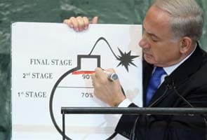 Benjamin Netanyahu says world must draw 'red line' for Iran