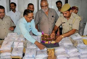 Huge quantity of drugs seized from Pakistan train