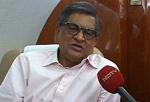 External Affairs Minister SM Krishna resigns