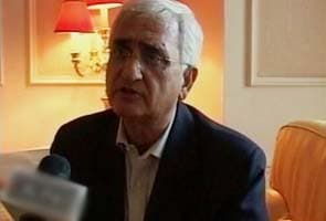 Salman Khurshid to counter Kejriwal today, says 'won't give in to blackmailers'