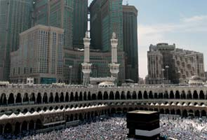 Muslim pilgrims flood Mecca for Haj