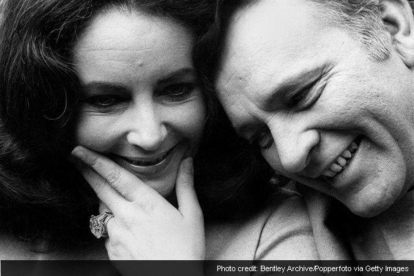 The Richard Burton-Elizabeth Taylor love story