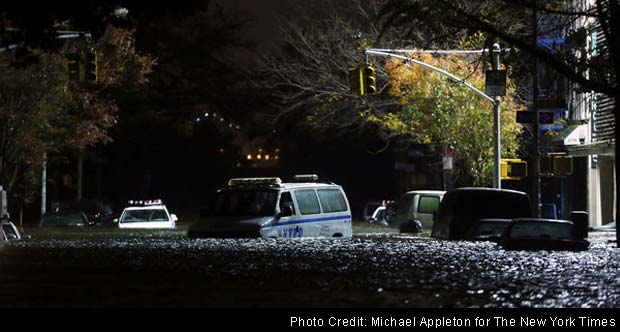 US awakes to huge damage in Superstorm Sandy's path; millions without power