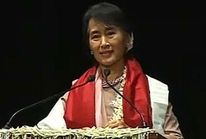 I feel myself partly a citizen of India, says Aung San Suu Kyi: Highlights