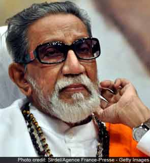 Bal Thackeray, right- wing Indian party leader, dies at 86