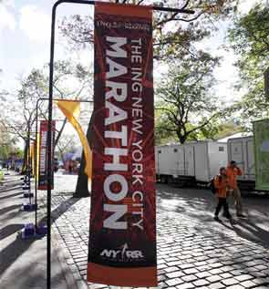 New York marathon cancelled amid rising tempers over storm damage