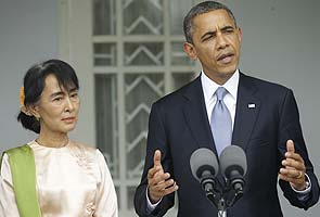 Obama promises support to an emerging Myanmar