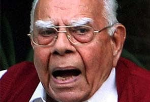 BJP issues showcause notice to Ram Jethmalani