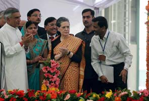 In Sonia Gandhi's Rae Bareily visit, hints of better Congress party and government interface