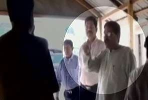 Caught on camera: Tripura MLA threatens cops