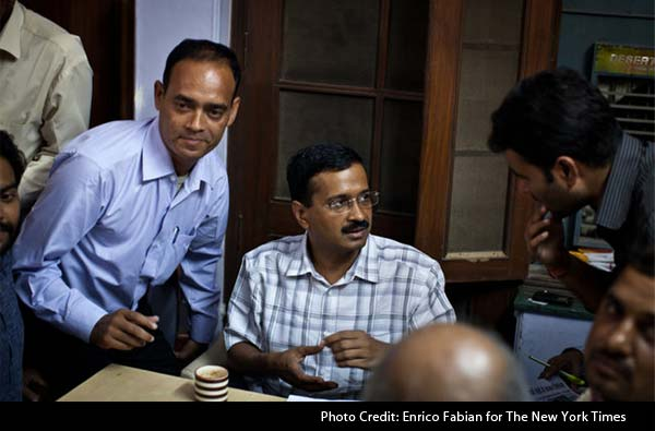 Arvind Kejriwal, 'bomb-thrower' of Indian politics