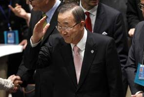 Ban Ki-moon vows peacekeepers will stay in threatened Goma