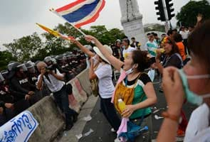 Thai police fire tear gas at political rally