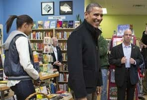 Look what Barack Obama's shopping for Christmas