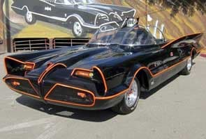 Original Batmobile from TV series to be auctioned