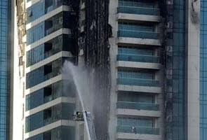 Major fire at a high-rise in Dubai