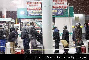 New York city orders rationing of gasoline at stations