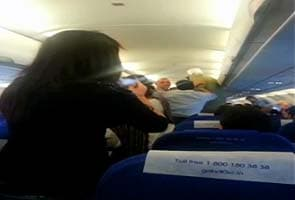 Man turns violent on board Mumbai-Delhi IndiGo flight; threatens, attacks crew member