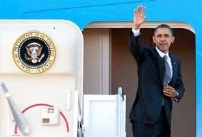 Barack Obama leaves for Asia, to make historic stop at Myanmar