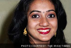 Twitter anger over Indian woman's death in Ireland