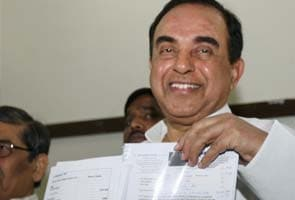 Subramanian Swamy seeks derecognition of Congress, files plea before Election Commission