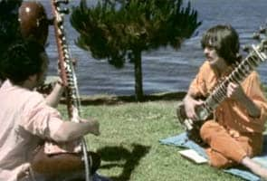 When Pandit Ravi Shankar taught a Beatle on a houseboat