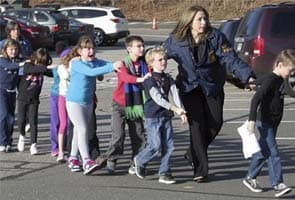 US school shooting: 18 children among 27 dead, says official