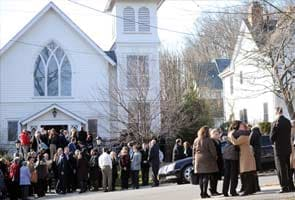 Few memorials to forgotten victim: gunman's mother