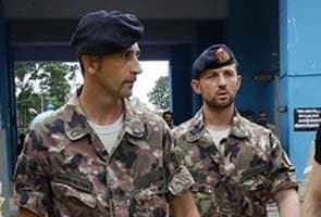 Italian marines go home for Christmas