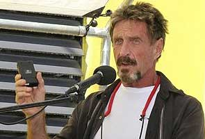 Software guru John McAfee wants to return to US