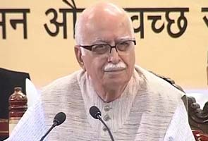 Some youngsters are more capable: LK Advani on Narendra Modi