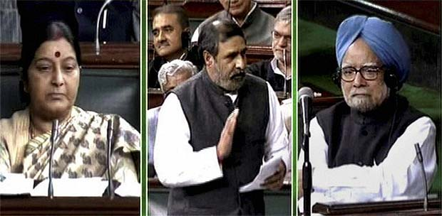 Govt wins FDI vote in Lok Sabha with Mulayam, Mayawati's help
