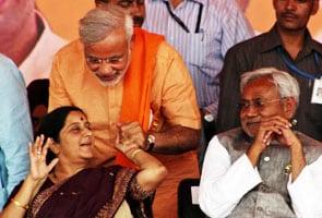 Nitish Kumar mum on Narendra Modi's victory